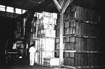 Interior of a Heavy-materials Warehouse, Spokane.