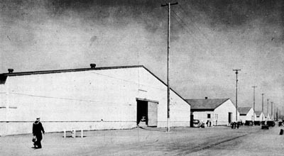 General Storehouses (Timber Frame, Sheathed with Corrugated Cement Asbestos), Oakland, Calif.
