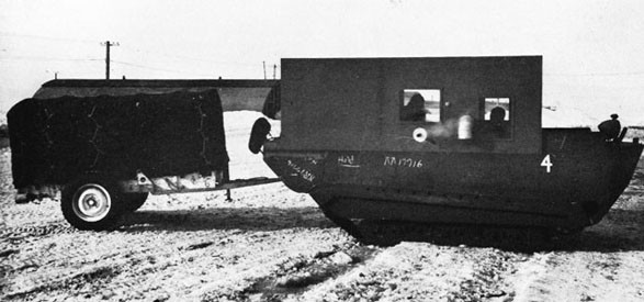 Amphibious Tracked Cargo Carrier, Alaska.