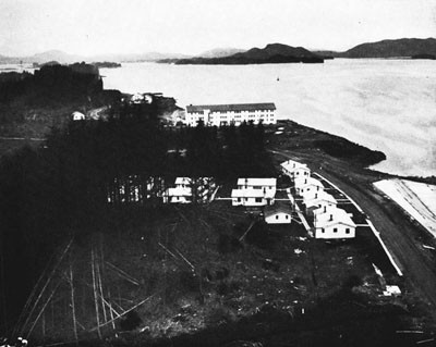 Quarters at NAS Sitka, March 1941.