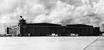 Double Hangars at Whitney Field, Pensacola.