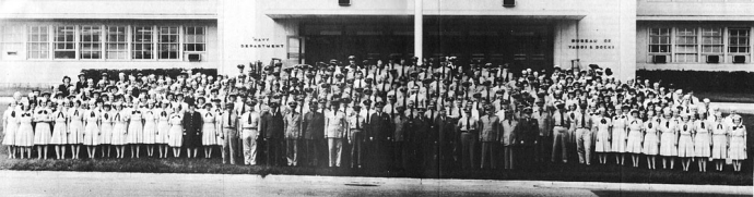 Military Personnel of the Bureau of Yards and Docks, September 1945.