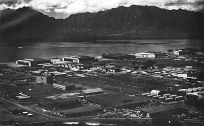 Naval Air Station, Kaneohe, Territory of Hawaii.