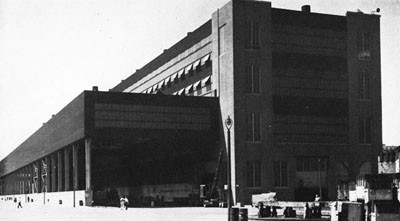 Sub-Assembly Shop and Steel Storage Shed, New York Navy Yard.