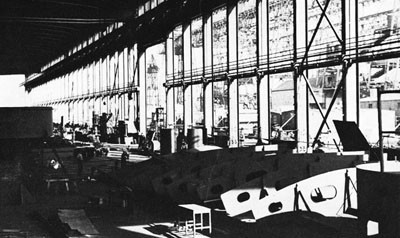 Interior of Sub-Assembly Shop, Norfolk Navy Yard.