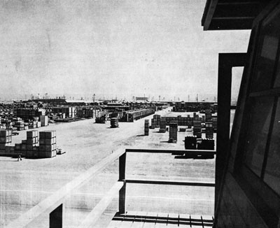Open Storage Area, Advance Base Depot, Port Hueneme, Calif.