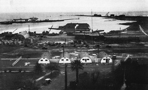 Pontoon Assembly Area, Advance Base Depot, Gulfport, Miss.