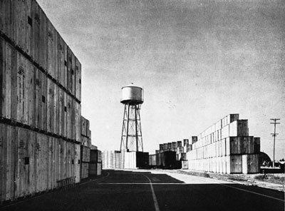 Open Storage Area, Advance Base Depot, Port Hueneme.