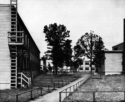 Barracks Area, Camp Endicott.