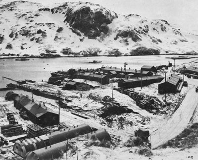 Naval Operating Base at Adak.