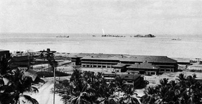 Administration and Subsistence Building, Trinidad Naval Base.