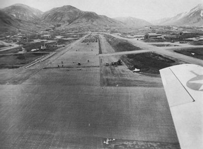 General View of the Naval Air Station at Attu.
