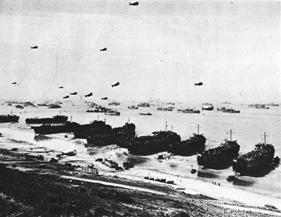 OMAHA Beach Before the MULBERRY Was Installed.