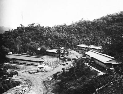 Barracks at Trinidad Naval Base.
