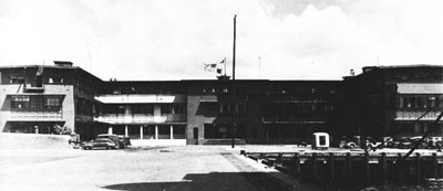 Administration Building at Pearl Harbor Naval Air Station.