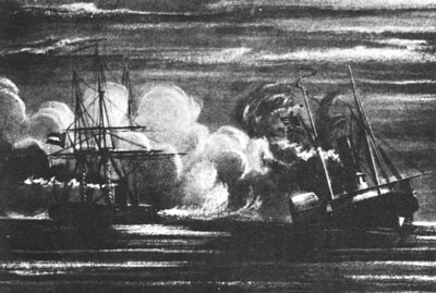 Sinking of the Hatteras by Alabama (290)