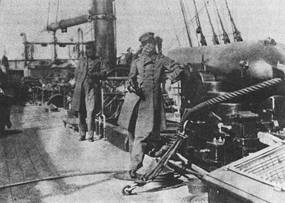 Photo of Captain Semmes in Alabama at Cape Town