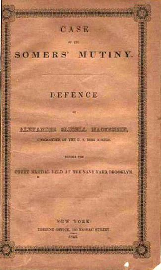 Case of Somers Mutiny