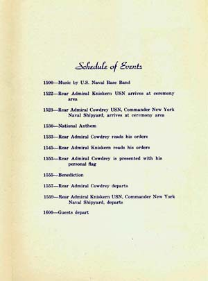 Image of page 3 of the ceremony brochure.