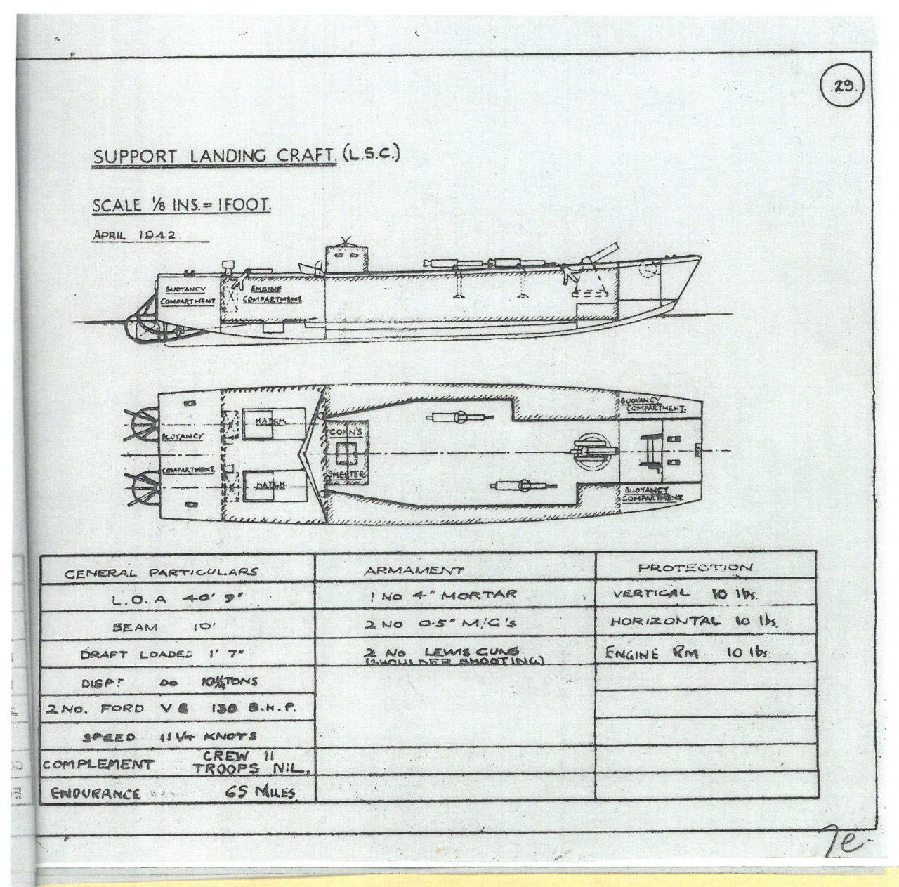 Support Landing Craft L.S.C