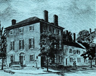 Image from the cover of 'The Decatur House and Its Distinguished Occupants.'