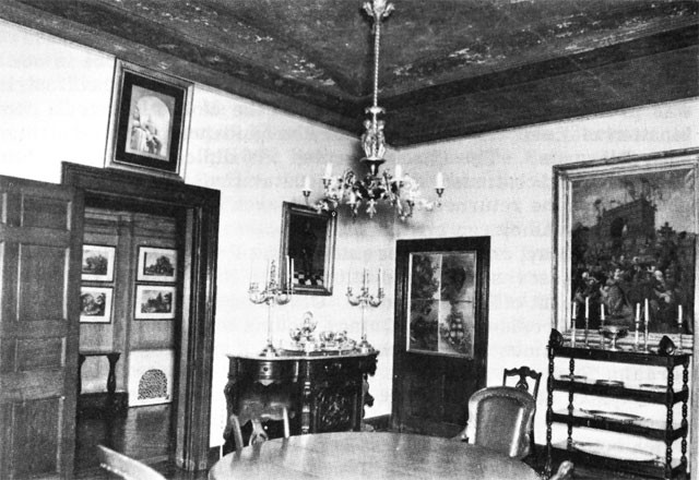 Image of the Southeast Corner of Dining Room
