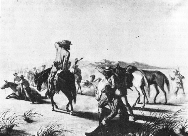 Image of Edward F. Beale's Camel Expedition, 1856