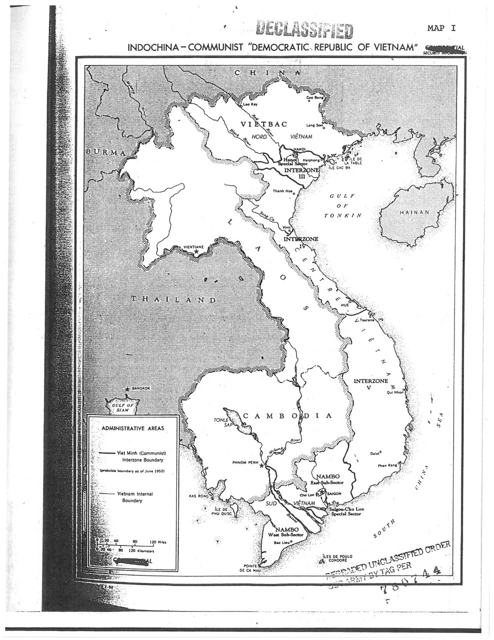 "Indochina-Communist ""Democratic Republic Of Vietnam"""