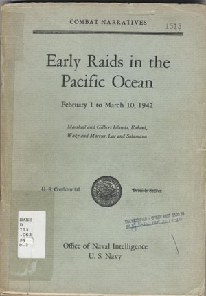 Early Raids in the Pacific Ocean cover