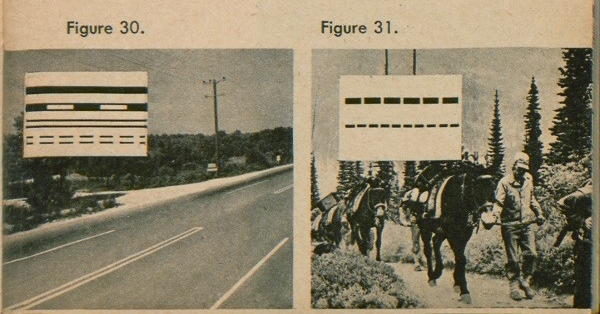 Figure 30: Lines representing different types of highways. Figure 31: Lines representing different types of walk ways.