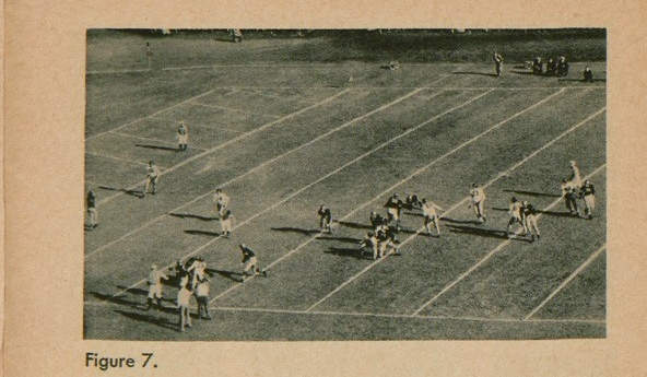 Figure 7: Stand view of football players