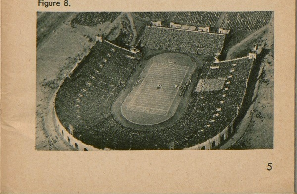 Figure 8: Aerial view of football stadium
