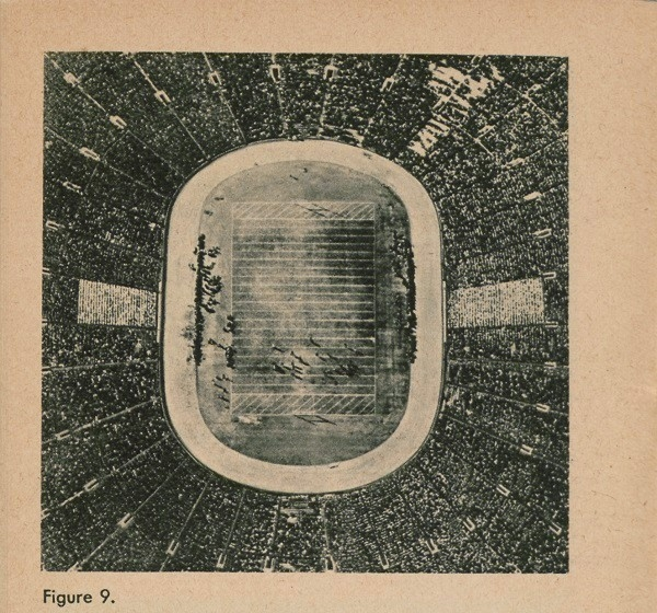 Figure 9: Aerial view of football stadium.