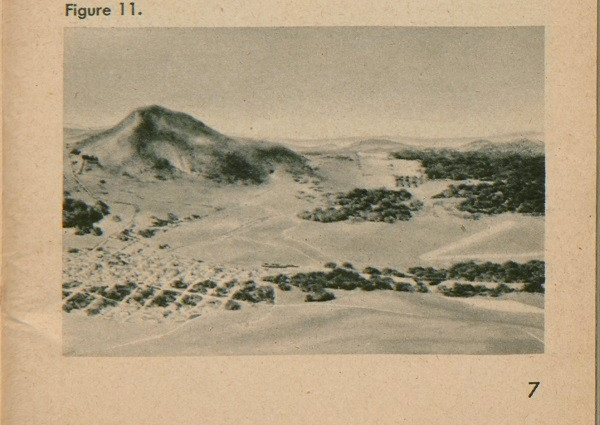 Figure 11: Air view of side of mountain and surrounding area.