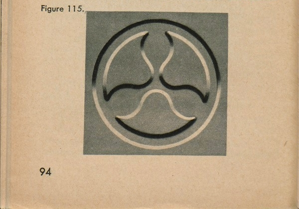 Figure 115: A trefoil with heavy shadows.
