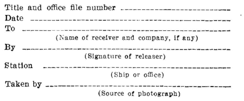 United States Navy Photograph Record, text below image.
