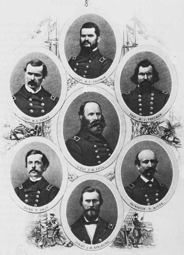 Junior officers of the CSS Alabama.
