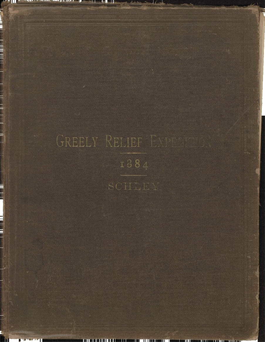 Greely Relief Expedition cover