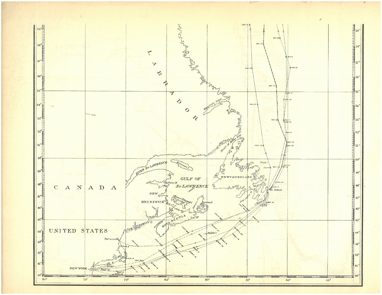 Greely Relief Expedition Charging Circuit Diagram For The 1949 52 Nash All Models Map1 Canada