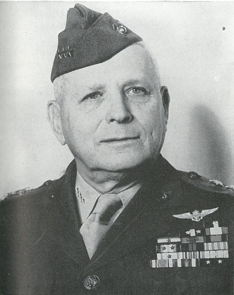 "MAJGEN ROY S. GEIGER, veteran Marine aviation commander, established 1st Marine Air Wing Headquarters on Guadalcanal on 3 September. His mixed, all-Service command soon became known as ""Cactus Air Force"", because of the code-name for the island."