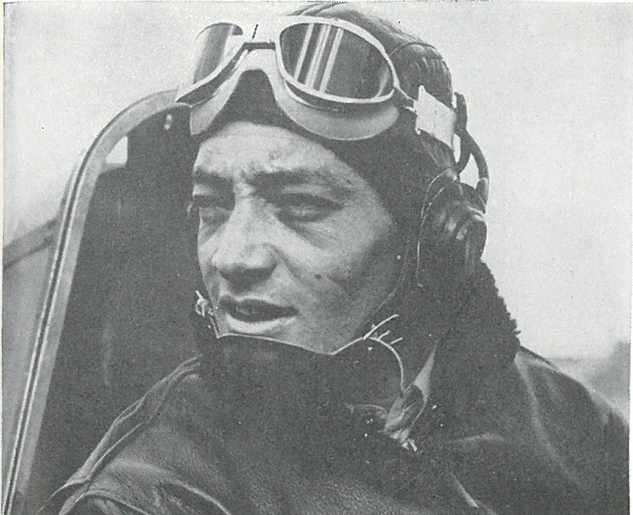 MAJ JOHN L. SMITH, first Marine ace of World War II, received the Medal of Honor for his feats as a Guadalcanal fighter pilot.