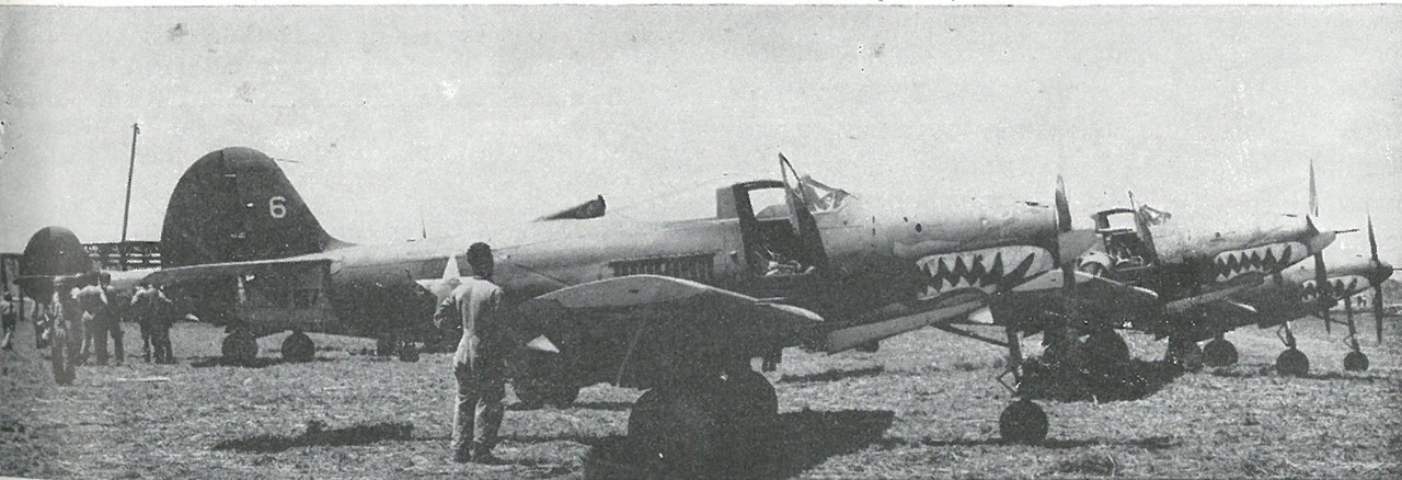 FIVE ARMY P-400s ARRIVED, the first Army personnel or aircraft to reach Guadalcanal, on 22 August.