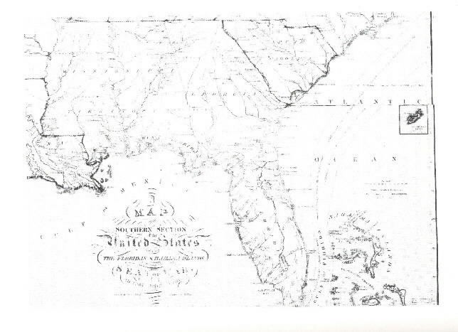"Image of ""A Map of the Southern Section of the United States..."""