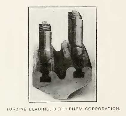 TURBINE BLADING, BETHLEHEM CORPORATION.