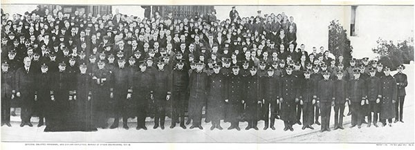 OFFICERS, ENLISTED PERSONNEL AND CIVILIAN EMPLOYEES OF BUREAU OF STEAM ENGINEERING, 1917-1918. [Pt. II]