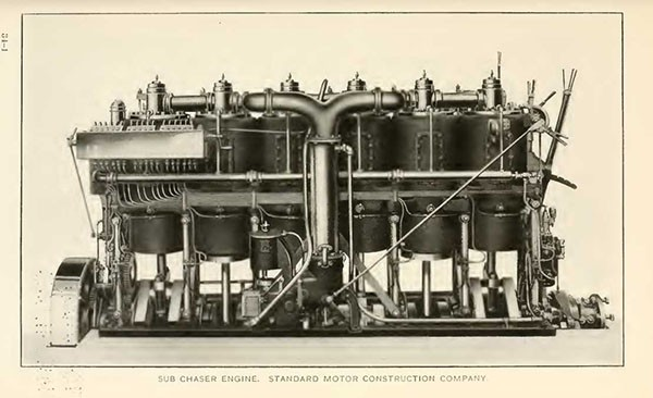SUB CHASER ENGINE. STANDARD MOTOR CONSTRUCTION COMPANY.