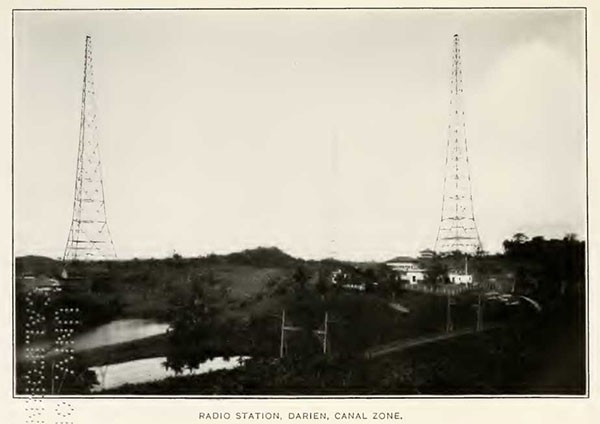RADIO STATION, DARIEN, CANAL ZONE.