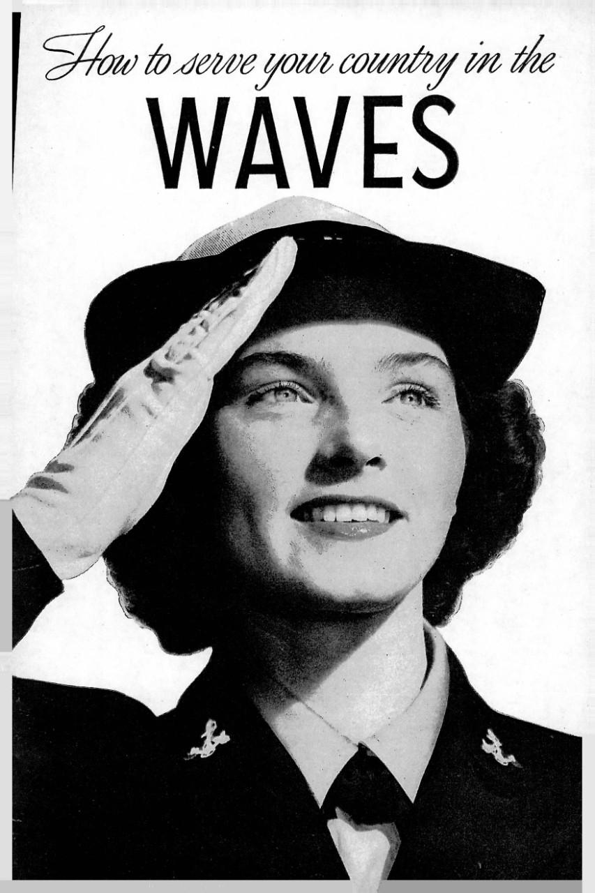 Join the Waves WW2 Propaganda bedroom ideas 1942 It/'s a woman/'s war too USA