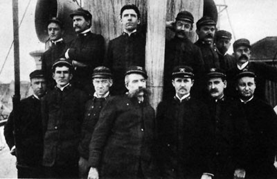 Image of Ship's Officers of Bear