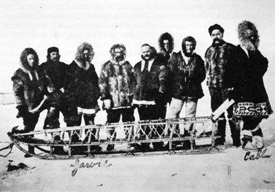 Relief Expedition at Point Barrow, 28 March 1898.